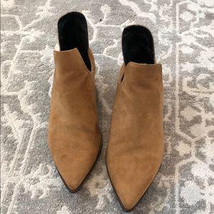 Zara Women's tan booties 38